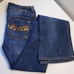 3/$50 EUC - Indigo Rein Flare Jeans